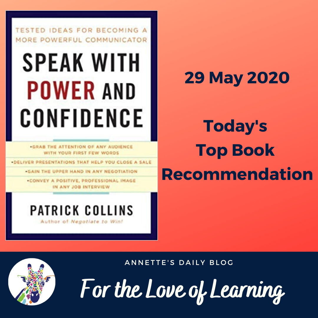 For the Love of Learning, 29 May 2020 : Today's Top Book Recommendation