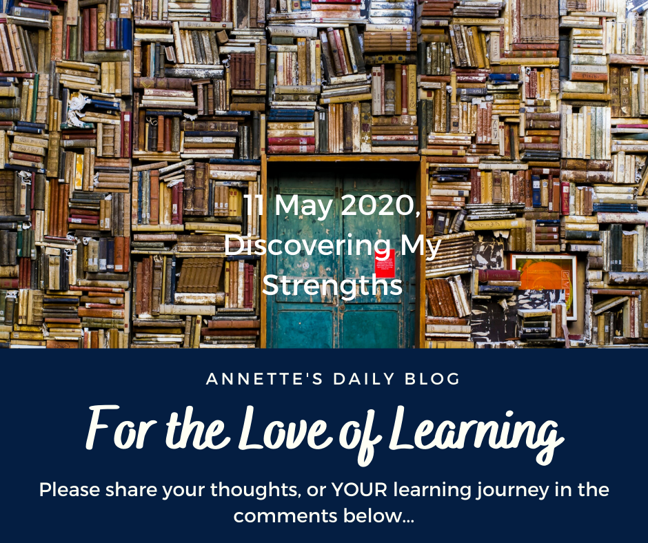 For the Love of Learning, 11 May 2020