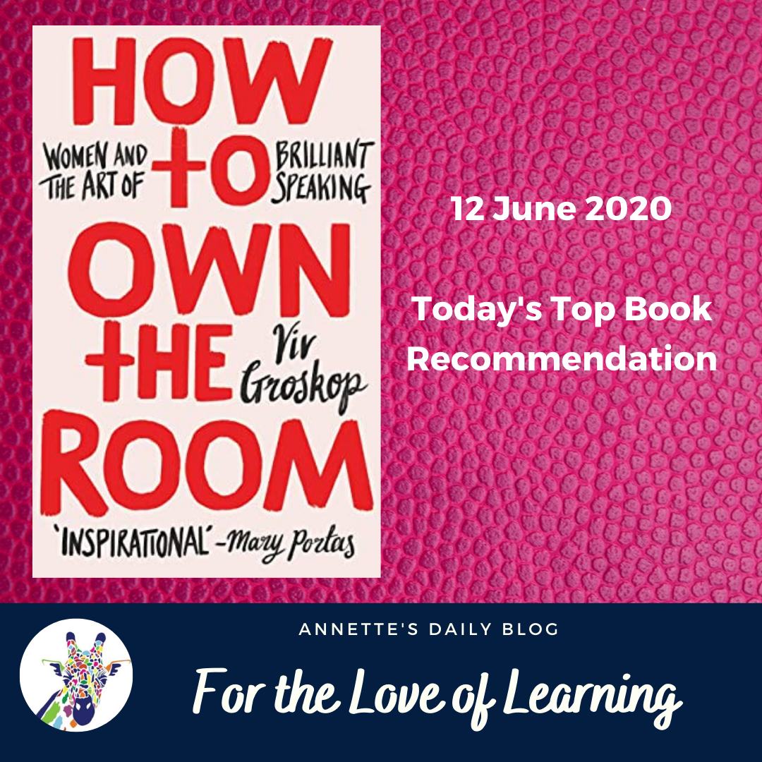 For the Love of Learning, 12 June 2020 : Today's Top Book Recommendation
