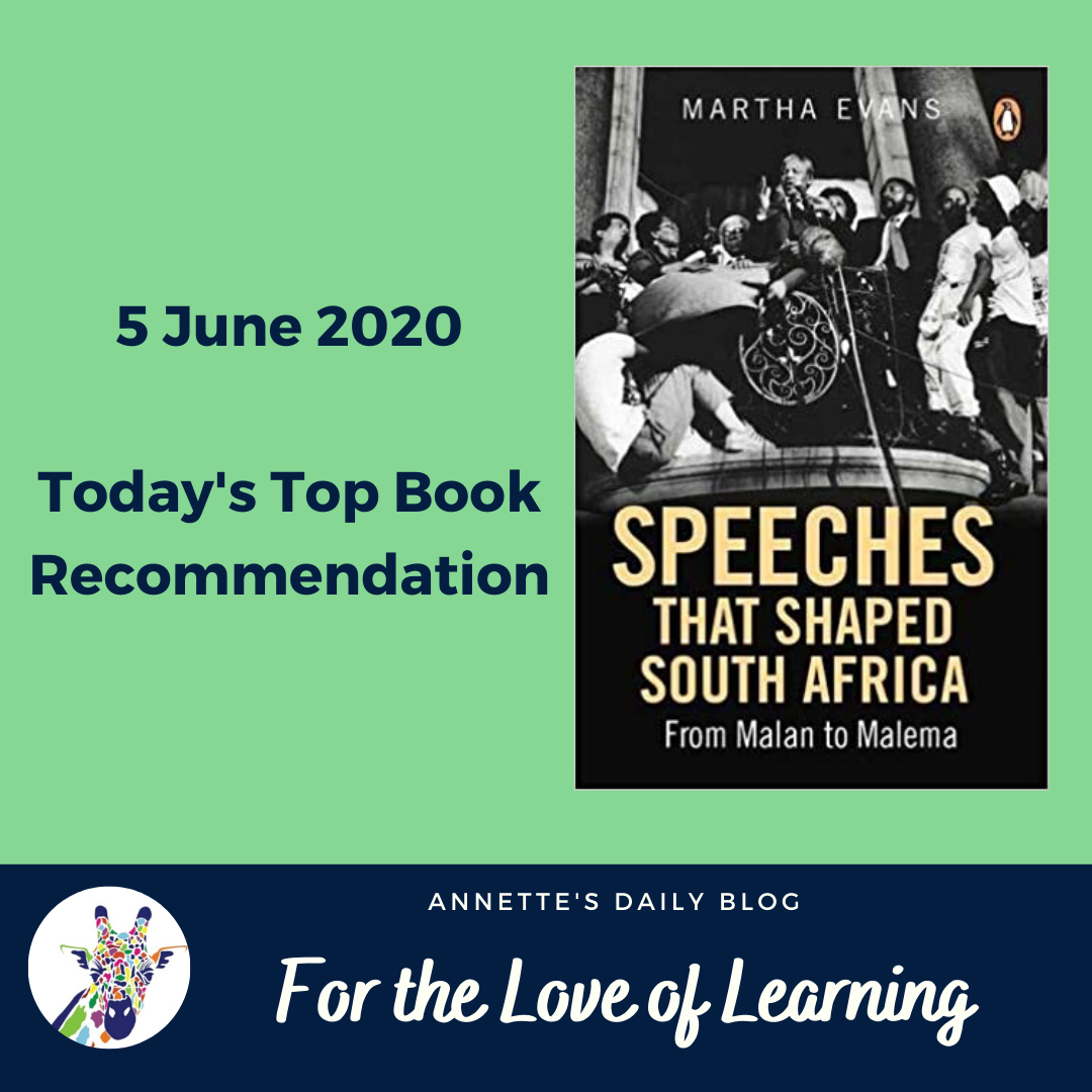 For the Love of Learning, 5 June 2020 : Today's Top Book Recommendation