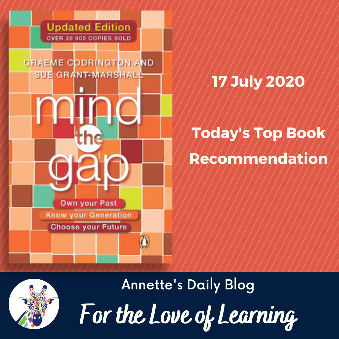 For the Love of Learning, 17 July 2020: Today's Top Book Recommendation